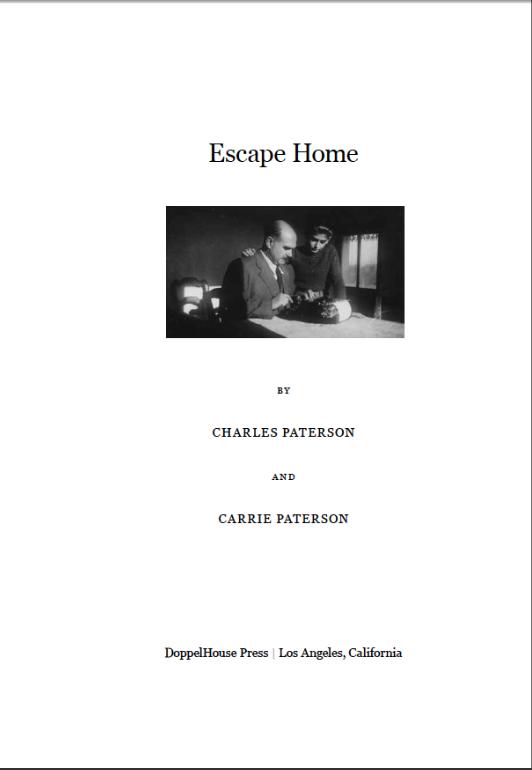 Escape Home - Inside Cover