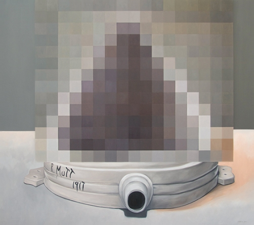 Pamela Joseph - Duchamp, Censored Small Fountain